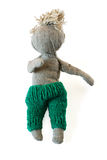 Marionnette fabriquée à la main Photographie stock libre de droits