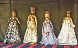 Marionnette fabriquée à la main Photos stock