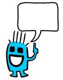 Marionnette heureuse illustration libre de droits