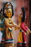Marionnette, Katmandou Images libres de droits