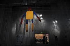 Marionnette suspendue de chaîne de caractères (21èmes UNIMA) Image stock