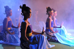 Marionnette traditionnelle de Javanese Photographie stock