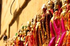 Marionnette traditionnelle de Rajasthani photos libres de droits