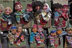 Marionnettes dans Uzbekistan Photo libre de droits