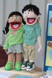 Marionnettes de chant Image stock