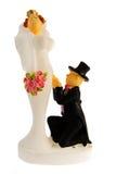 Marionnettes de mariage Photo libre de droits