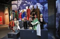 Marionnettes de tige chinoises (21èmes UNIMA) Photos libres de droits