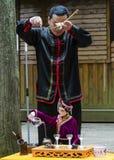 Marionnettes de tige chinoises Images libres de droits