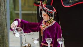 Marionnettes de tige chinoises Photos libres de droits
