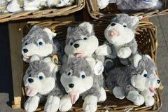 Marionnettes de tissu Photo stock