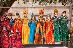 Marionnettes du Ràjasthàn Photos libres de droits