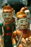 Marionnettes vietnamiennes de l'eau Photographie stock libre de droits
