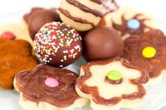 Maripan cookies Stock Image