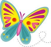 Mariposa stock de ilustración