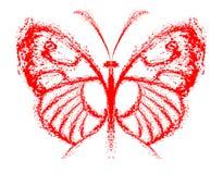 Mariposa abstracta Imagen de archivo libre de regalías