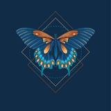 Mariposa abstracta Fotos de archivo