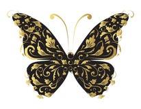 Mariposa, adornada para su diseño ilustración del vector