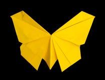 mariposa amarilla de la papiroflexia fotos de archivo imagen 32648493. Black Bedroom Furniture Sets. Home Design Ideas