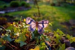 Mariposa artificial Fotografía de archivo libre de regalías