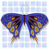 Mariposa azul libre illustration