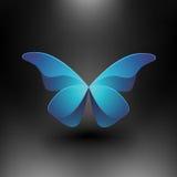 Mariposa brillante del vector Foto de archivo libre de regalías