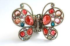 Mariposa cristalina fotos de archivo libres de regalías