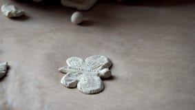 Mariposa de la arcilla Fotos de archivo libres de regalías