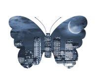 Mariposa de la ciudad libre illustration