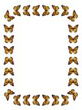 Mariposa de monarca de la frontera libre illustration