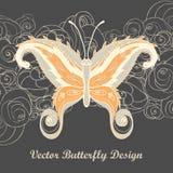 Mariposa de Paisley Fotografía de archivo