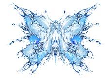 Mariposa del agua fotos de archivo