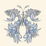 Mariposa del concepto con las alas - pescados Fotos de archivo libres de regalías