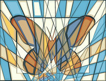 Mariposa del mosaico Fotos de archivo libres de regalías