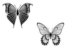 Mariposa del tatuaje libre illustration