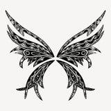 Mariposa del tatuaje Fotografía de archivo libre de regalías