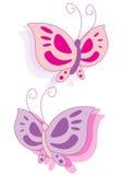 mariposa del vector Foto de archivo libre de regalías
