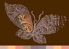 Mariposa delicada. Fotografía de archivo