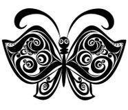 Mariposa, elemento para el diseño, ilustración del vector Foto de archivo