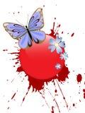 Mariposa hermosa Fotos de archivo libres de regalías