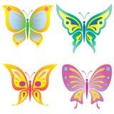 Mariposa hermosa stock de ilustración