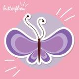 Mariposa hermosa Imagen de archivo