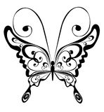Mariposa, ilustración del vector Imagen de archivo libre de regalías