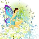 Mariposa joven ilustración del vector