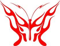 Mariposa llameante 1 Fotografía de archivo libre de regalías