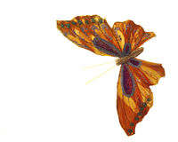 Mariposa paper. In a totally white background stock photo