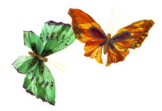 Mariposa paper. In a totally white background stock images