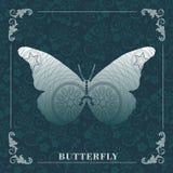 Mariposa, pintura decorativa Foto de archivo libre de regalías