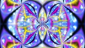 Mariposa que mira el contexto psicodélico libre illustration