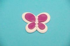 Mariposa rosada Fotografía de archivo