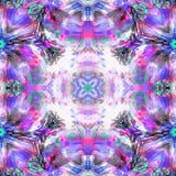Mariposa suave del fractal del batik Foto de archivo